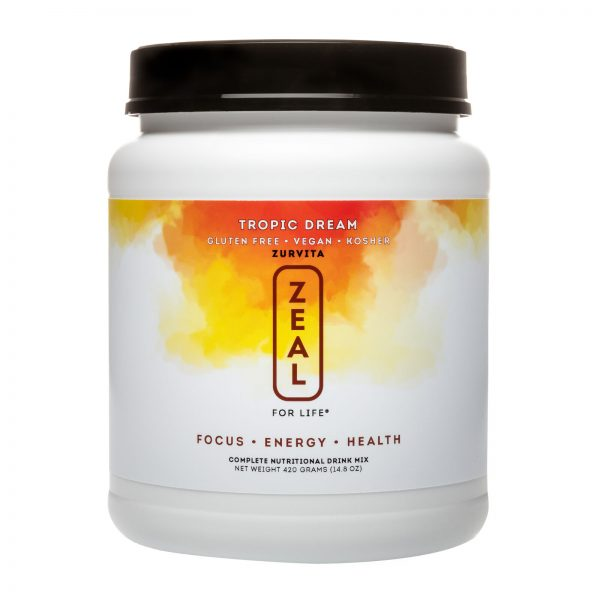 Zurvita- Zeal for Life- 30-Day Wellness Canister- Tropic Dream
