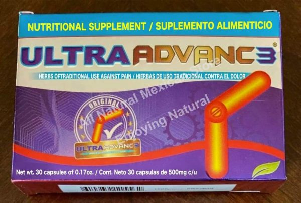 ULTRA ADVANCE 3 Arthritis Joint Pain Reumatism 30 caps ORIGINAL, CURCUMA JINGER