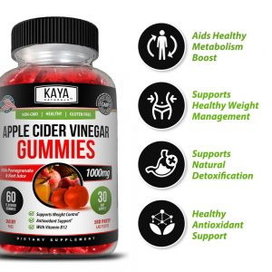 Apple Cider Vinegar Gummies, Weight Loss Appetite Suppressant- Compare to Goli 1