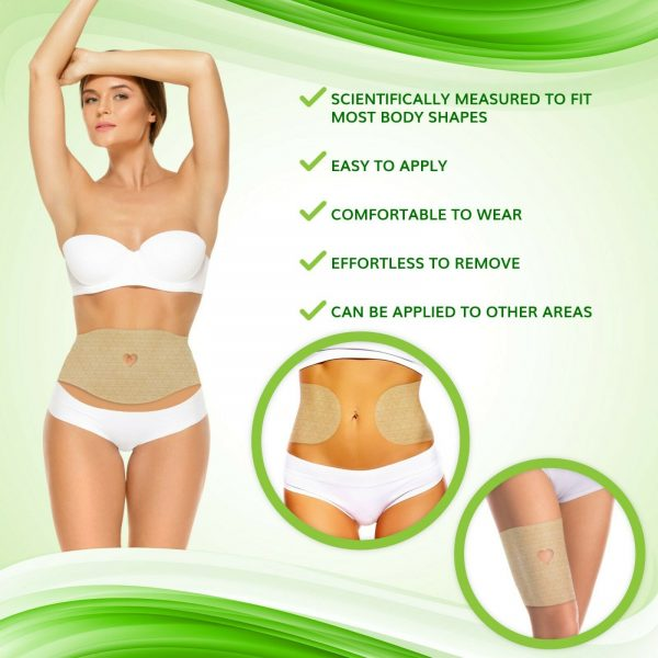NEW Improved Firming and Shaping Contouring Patch Slimming Body wrap 5 WRAPS 3