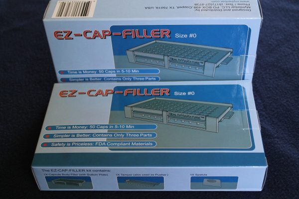 50 holes EZ-CAP-FILLER cap filler machine size 4,3,2,1,0,00,000 respectively 5