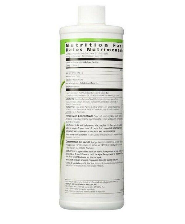 Herbalife Herbal Aloe Drink Concentrate - Original Pint 1