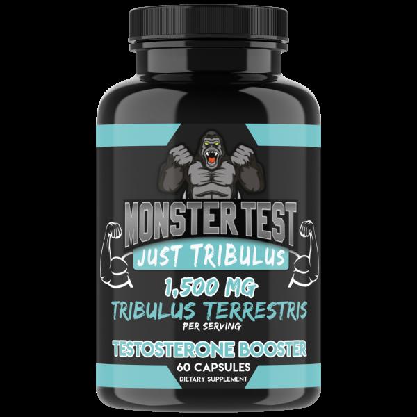 Monster Test Mens Just Tribulus + Monster N.O. Nitric Oxide + Test Booster, 2-pk 1