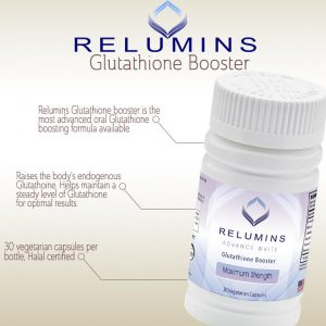 Authentic Relumins Advanced White Glutathione Booster - Max Strength 1