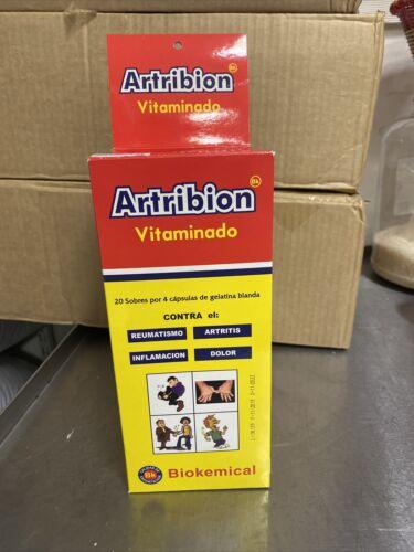 Artribion Vitaminado  display, 80 capsules. 20 packs x4. Arthritis, inflamation.