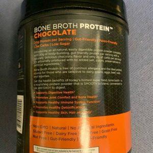 Ancient Nutrition Bone Broth Protein Powder Chocolate 17.8 oz BB 9/21+ 1