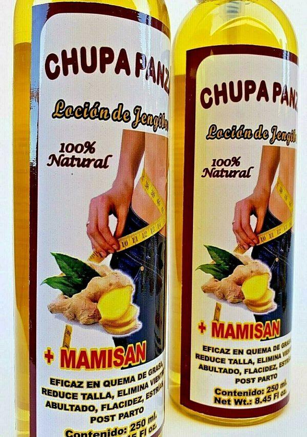 2 Packs CHUPA PANZA SPRAY + Ginger + MAMISAN + LOCION + Jengibre 1