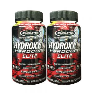 MuscleTech Hydroxycut Hardcore Elite 100ct [2 Pack]