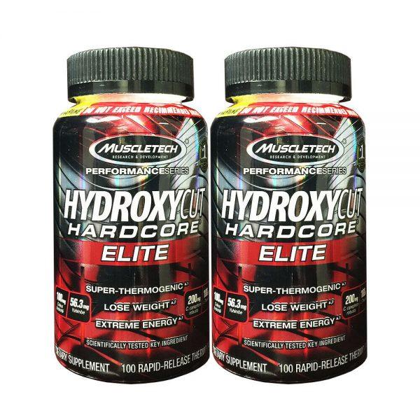 MuscleTech Hydroxycut Hardcore Elite 100ct [2 Pack]