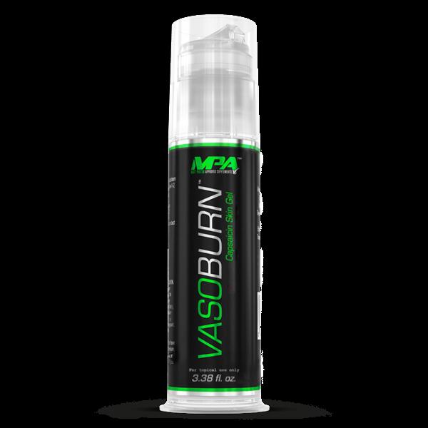 MPA VASOBURN 3.38 oz Thermogenic Topical Skin Gel Fat Burner  3.38 oz Pump