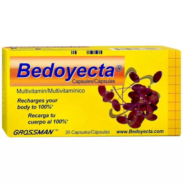 VITAMINS: Bedoyecta Capsules with 30 4