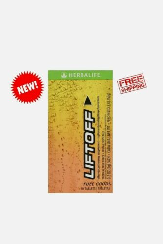 Herbalife Liftoff Tropical Fruit 10 Tablets - Free Shipping!  1