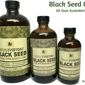 Black Seed Oil - 100% Pure Organic COLD PRESSED Cumin Nigella Sativa Unrefined 1