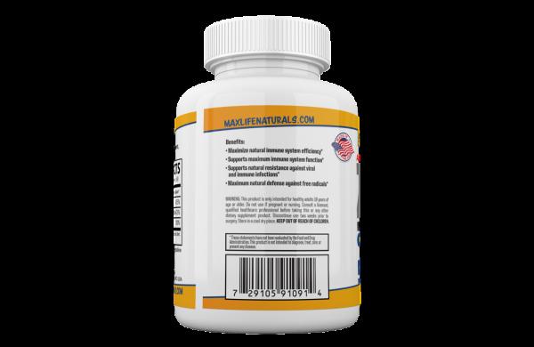 Zinc Picolinate 50 mg + Vitamin K2 (MK7) + Vitamin D3 Zinc Picolinate Supplemens 5