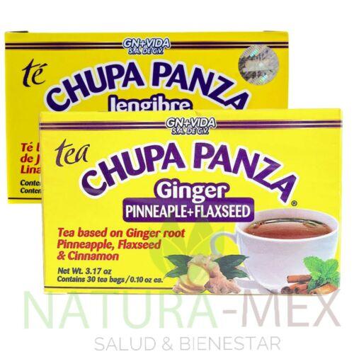 ORIGINAL‼️ 2 PACK Chupa Panza Detox Ginger Tea 60 Day Supply Te Chupa Pansa 2