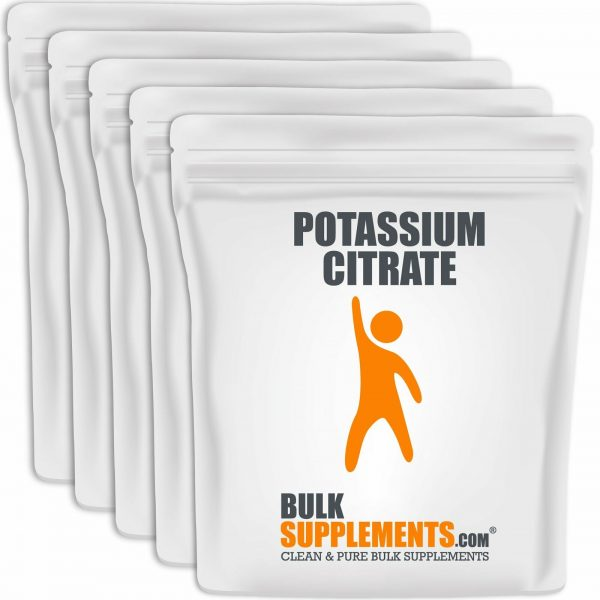BulkSupplements.com Potassium Citrate  6