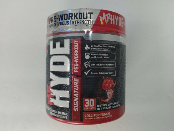 Pro Supps Mr. Hyde Signature Series Pre-Workout Powder, Lollipop Punch, 30 Serv.