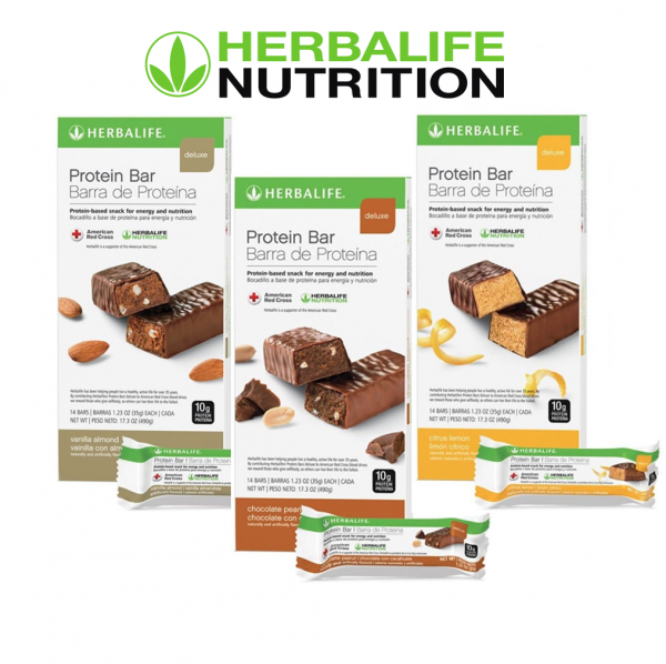Herbalife Protein Bar Deluxe: 14 Bars per Box (ALL FLAVORS) , New Exp 2022