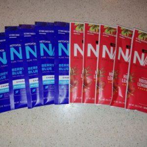 Pruvit ketones OS NAT 10 pack Berry Blue & Hibiscus Lemonade - pure therapeutic