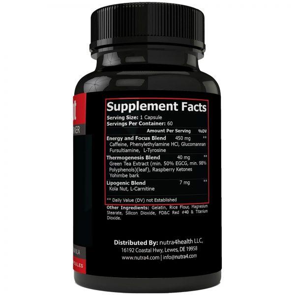 Instant Knockout Fat Burner Diet Supplement Pill for Men and Women - High Imp... 1