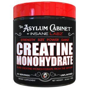 INSANE LABZ ASYLUM CABINET CREATINE - PURE CREATINE MONOHYDRATE - 60 SERVINGS