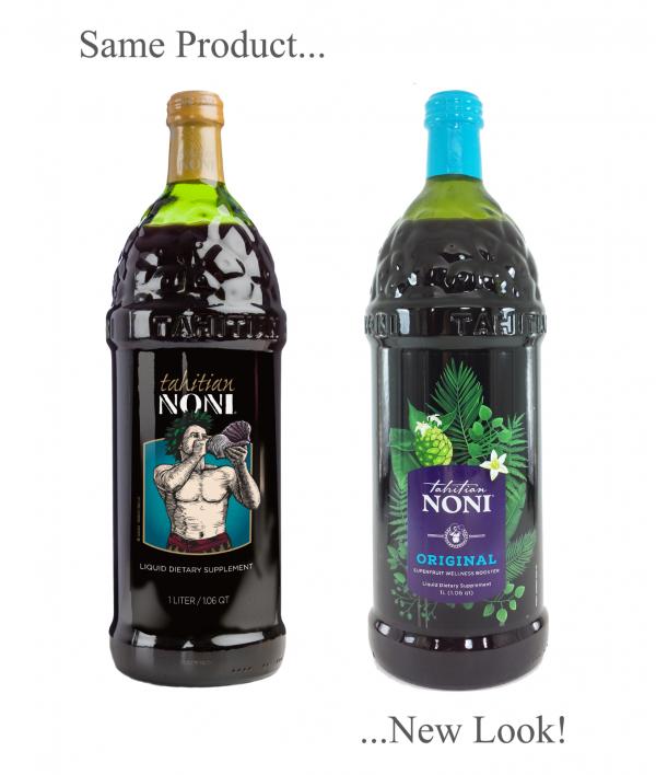 Tahitian Noni Juice by Morinda Inc. (4 bottle case) *NEW LOOK!* SALE PRICE! 2