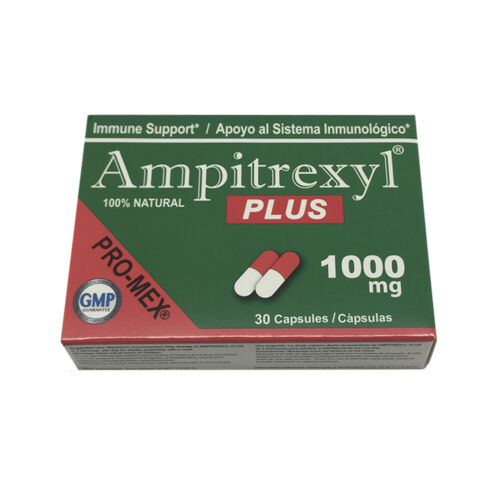 ProMex Ampitrexyl Plus. Boost Immune System. Natural Supplement 1000 mg, 30 Caps