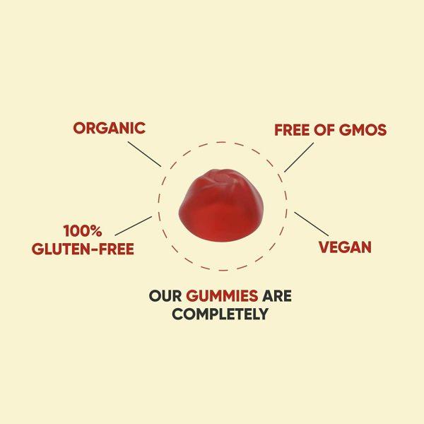 60 Count Gummies Bottle - Goli Apple Cider Vinegar Gummies Vitamins ACV Gummy  4
