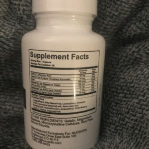 Nucentix GS-85 Dietary Supplement 30 capsules  SEALED exp 2022 1