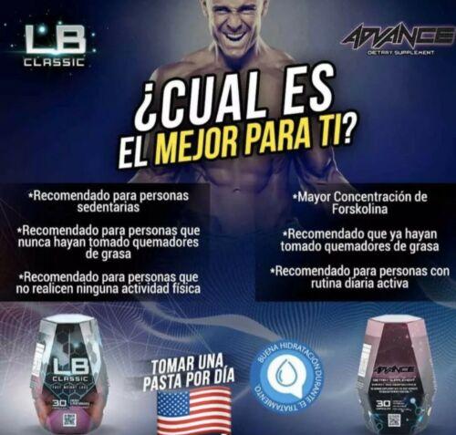 Lipo blue Advance Dietary Weight Loss Supplement Fat Burner LIPOBLUE Adelgaznate 3