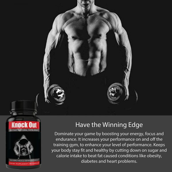 Instant Knockout Fat Burner Diet Supplement Pill for Men and Women - High Imp... 5