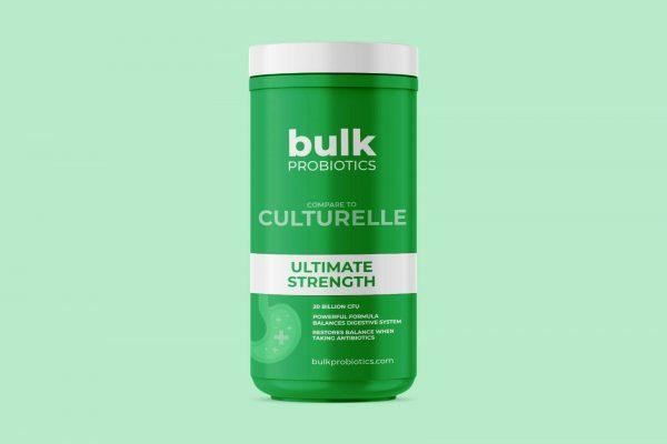 BULKPROBIOTICS Culturelle 20 Billion CFU Ultimate Strength Probiotic VEGAN 2