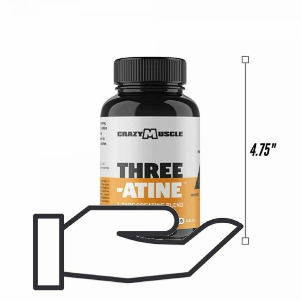 Crazy Muscle® Creatine Monohydrate Pills: [PROVEN] Muscle Building Supplement ✅✅ 5