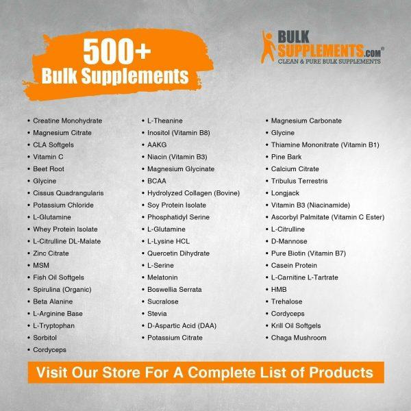 BulkSupplements.com Pygeum Africanum Extract  10