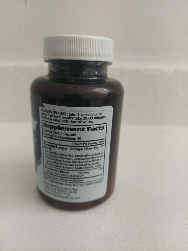 FungusClear premium fungus formula 30 capsules. FREE SHIPPING. 1