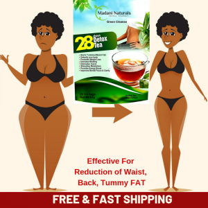 28 DAY DETOX TEA TO BURN BELLY FAT SKINNY FIT HERB BOOST METABOLISM COLON CLEANS