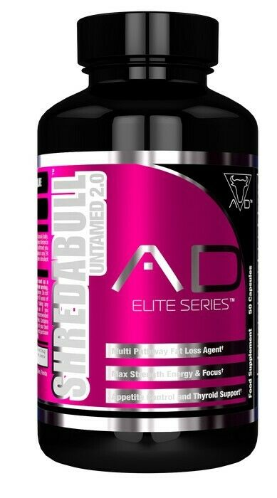Project AD Shredabull 2.0 Untamed Fat LossAppetite control and Thyroid Support