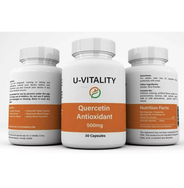 Buy 2 get 1 FREE Quercetin Antioxidant 500mg Immune System Energy Support  2