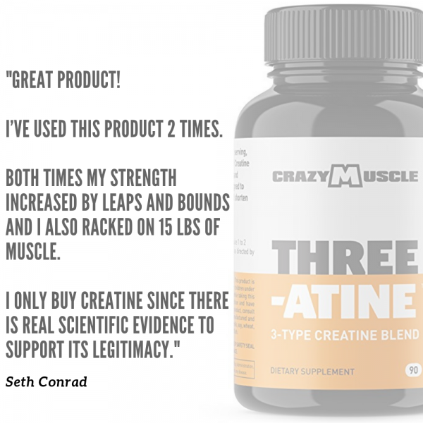 Crazy Muscle® Creatine Monohydrate Pills: [PROVEN] Muscle Building Supplement ✅✅ 8