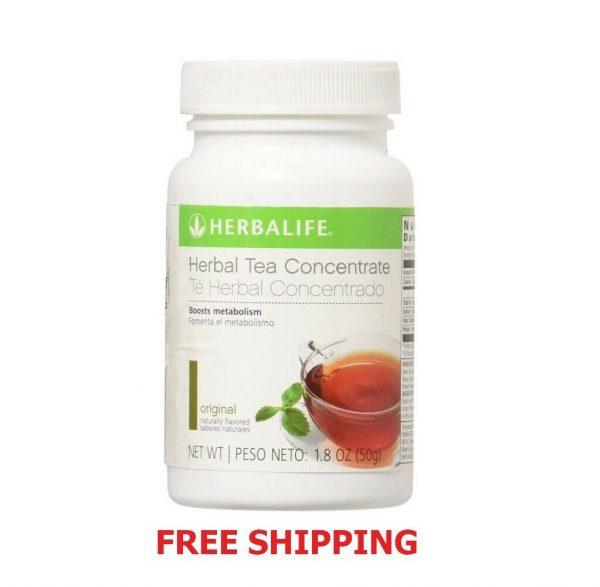 Herbalife Herbal Concentrate Tea Lemon Flavor 1.8 oz 50 g - FREE SHIP