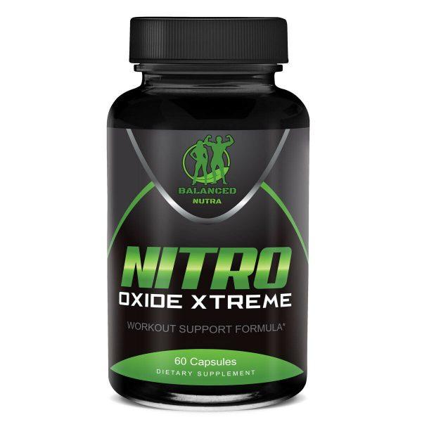 3X NITRIC OXIDE L-ARGININE Build Muscle Pump Extreme 60 CAPS 1600 MG Work Out 1