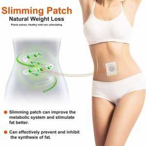 100Pcs Slim Patch Magnetic Slimming Weight Loss Burn Fat ✅ALL NATURAL Pads ISO✅ 1
