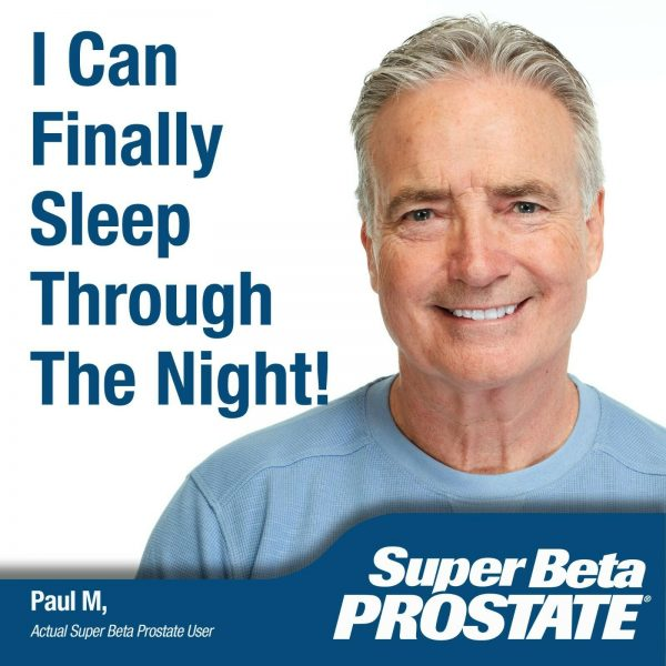 Super Beta Prostate Supplement -Reduce Frequent Urges to Urinate- NEW -FREE S&H 5