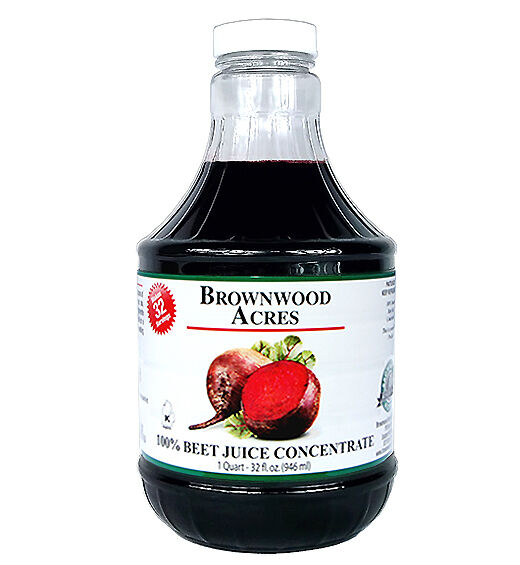 """Beet Juice Concentrate """"Cold Filled"""" ONE QUART 32 Day Supply"""