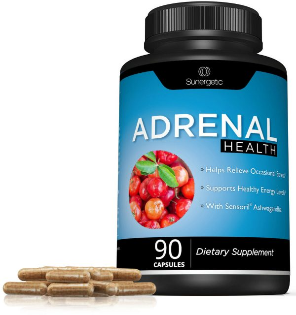 Adrenal Support Supplement - Supports Healthy Adrenal Function-90 Capsules 5