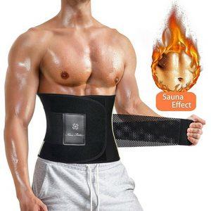 Fajas Para Hombres Para Adelgazar Cinturon Efecto Sauna Para Quema Body Shaper