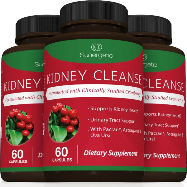 Kidney Cleanse Supplement-Kidney Support Formula With Cranberry - 60 Capsules 6
