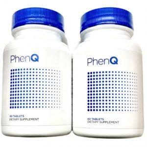 2 Pack PhenQ #1 Best Diet Pills - Weight Loss Burn Fat Energy Phen Q Appetite