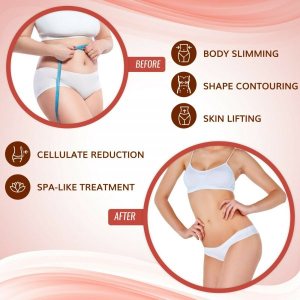 5 Ultimate Body Applicators. It works to Tone Tighten and Firm - 5 skinny wraps 4