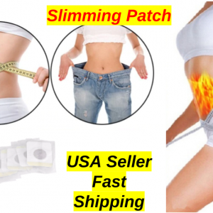 30PCS Magnetic Slim Slimming Patch Diet Weight Loss Detox Adhesive Pad Burn Fat